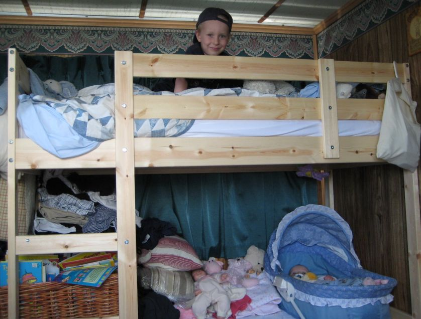Boy in Bunk