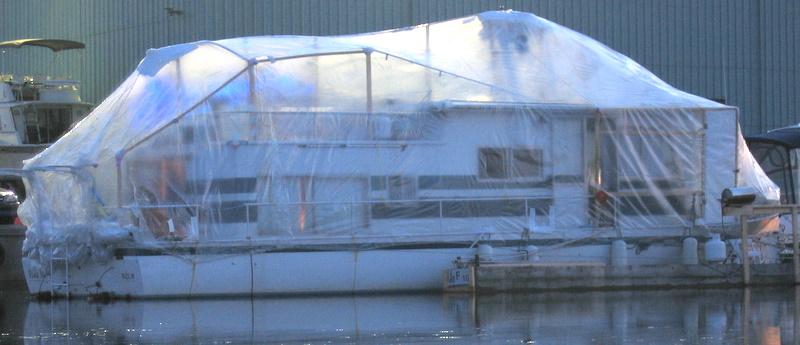 Shrink Wrap | We Live On A Boat